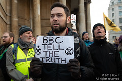 Reclaim The BBC - 21 December 2018 (The Weekly Bull) Tags: bbc climatemediacoalition climatechange extinctionrebellion london uk wintersolstice ceremony demonstration divestment environment globalwarming media protest vigil