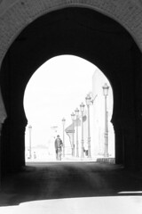 From a far country (www.holgersbilderwelt.de) Tags: meknes morocco imperialcities beautiful white light sky black travel people street architecture urban art building outdoor monochrome way fine africa shadow amazing classic kunst scenic castle lovely historic culture traditional public perspective tradition arabian attractive schwarzweiss aperture