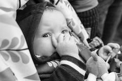 Molly in her pram (timnutt) Tags: sizergh sizerghcastle cumbria 35mm children garden xt2 bw acros monochrome lancashire mono fuji fujichrome family blackandwhite 35f2wr fujifilm