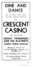 1933  crescent casino   latham rte 9 (albany group archive) Tags: 1930s nighclub bar latham old albany ny vintage photos picture photo photograph history historic historical