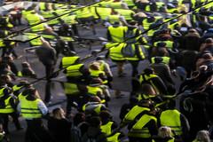 Fragmentation Française... (JM@MC) Tags: reflet reflection giletsjaunes protest manifestation france marseille