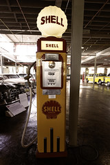 Deco Pumping (Pete Zarria) Tags: red indiana car auto vintage old detroit museum cord auburn duesenberg