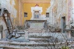 Mauro Amoroso © (Mauro_Amoroso) Tags: urbex abandoned church chiesta decay dusty dustysecrets mauroamorosoadventures angel god cruix urbexitalia italia nikon nital nikonitalia