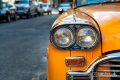 Checker Taxi (Karlgoro1) Tags: carl zeiss planar t 1485 contax cy sony alpha a7r ii mirrorless digital camera ilce7rm2 manhattan new york city street car vehicle road taxi checker taxicab
