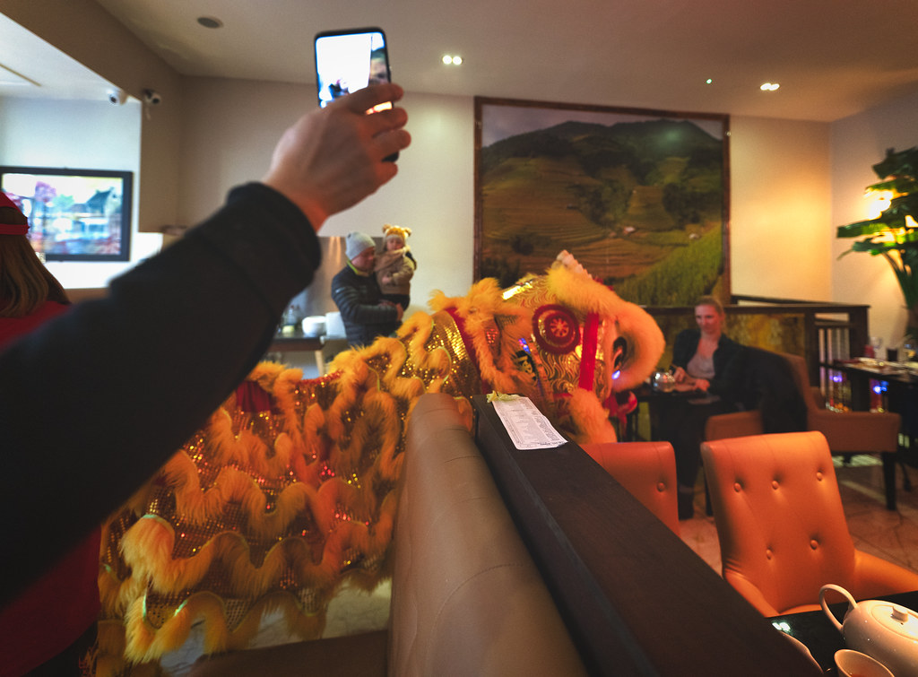 I WAS INVITED TO THE LUNAR NEW YEAR CELEBRATION AT MR. DINH ON CAPEL STREET [ THE YEAR OF THE PIG]-148734
