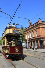 Crich tramway Museum (jpotto) Tags: uk derbyshire crich crichtramwaymuseum tramtransport building eastmidlands ambervalley