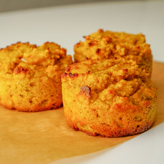 2019.02.08 Low Carbohydrate, Healthy Fat Pumpkin Muffins with Cream Cheese Filling, Washington, DC USA 09763