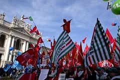_IMG0383a (i'gore) Tags: roma cgil cisl uil futuroallavoro sindacato lavoro pace giustizia immigrazione solidarietà diritti