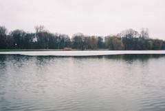 000044 (dominika.pancerz) Tags: 35mm analog analogue landscape lake winter city krakow nowahuta canoneos1000 canon kodak kodak200 film