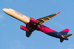 HA-LTF (Andras Regos) Tags: aviation aircraft plane fly airport bud lhbp spotter spotting takeoff wizzair airbus a321