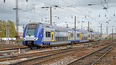 Z 24649/50 (375), Amiens - 20/10/2014 (Thierry Martel) Tags: z24500 amiens automotrice sncf