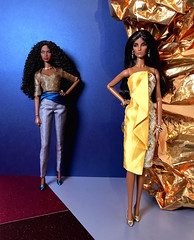 Suitable Substitute (doll_enthusiast) Tags: integrity toys it fashion royalty fr fr2 serenity gift set seduisante elyse elise jolie sacred lotus collection adele makeda the faces 30 dolls doll photography collecting