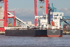 Loch Long (Das Boot 160) Tags: lochlong bulker ships sea ship river rivermersey port docks docking dock boat boats maritime mersey merseyshipping