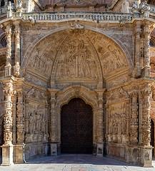 ASTORGA Catedral-Portada Renacentista (dnieper) Tags: catedraldeastorga portadarenacentista astorga león spain españa panorámica