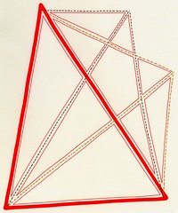Trisect the Angle (Daniel Ari Friedman) Tags: red black color draw pen ink creative art drawing danielarifriedman daniel ari friedman science philosophy chromatic paper artistic geometry topology mathematics cartoon freehand freedraw craft