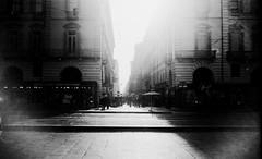(Victoria Yarlikova) Tags: city film 35mm monochrome scan zenit122 epsonv700 darkroom piemonte torino lacittàmetropolitanaditorinovistadavoi