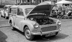 Midland Regional Rally - 21/07/18 (CamShaw74) Tags: quorn station morris minor canon at1 50mm f18 agfa apx100 ddx epson v800 traction engine railway