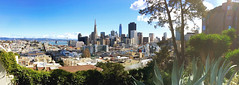 SF Cityscape (LBena) Tags: sanfrancisco cityscape skyline panorama downtown