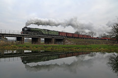 Nene Valley (Treflyn) Tags: a1 class 462 60163 tornado steam river nene valley railway freight goods train 30742 charters photography day photo charter