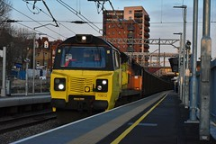 Colas 70812 @ West Ealing 23/2/19 (Lewis43239) Tags: class 70 deck west ealing car train ford