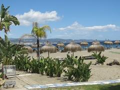 Puerto Beach! ('cosmicgirl1960' NEW CANON CAMERA) Tags: marbella spain espana andalusia costadelsol puertobanus blue sky water travel holidays green yabbadabbadoo