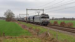 Bathmen RFO 1829 met VTG graantrein (Rob Dammers) Tags: bathmen overijssel nederland nl