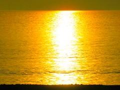 Sunlight on the Irish Sea (billnbenj) Tags: barrow cumbria walneyisland biggarbank sunshine sunset sunlight irishsea