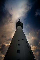 The tower (Ptittomtompics) Tags: hornisgrinde nature schwarzwald ciel sky dramaticsky nuage cloud nuageux cloudy bâtiment building tower tour paysage orage storm cloudscape