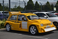 MG Metro 6R4 (CA Photography2012) Tags: c799ehu mg metro 6r4 yellow hot hatch group b rally legend icon classic hatchback rover bl british leyland rare special motorsport homologation gruppe ca photography automotive exotic car spotting exotics carspotting vehicle
