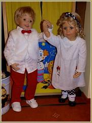 Auf Wiedersehen ! / Good bye ! (ursula.valtiner) Tags: puppe doll luis bärbel künstlerpuppe masterpiecedoll kasperltheater punchtheatre