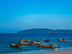 Ao Nang 1 (deepaqua) Tags: boat aonang sand beach ocean indianocean andamansea thailand