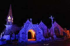 Eglise de Saint-Onneau - Esquibien (marcaud29) Tags: eglise church equibien finistère nuit