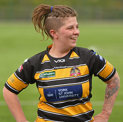 Seeing The Funny Side (Feversham Media) Tags: yorkcityknightsladiesrlfc castlefordtigerswomenrlfc womensrugbyleague womenssuperleague rugbyleague york yorkstjohnuniversity