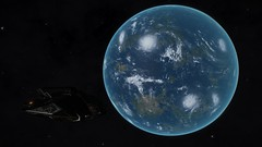 Smootoae VE-R d4-134 (Shadow Earth)1 (Cmdr Hawkshadow) Tags: distantworlds2 elitedangerous aspexplorer earthlike