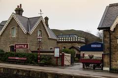 IMG_5009  Settle Railway Station (Beth Hartle Photographs2013) Tags: yorkshire settle settlecarlislerailway railway station