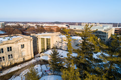 2019 - January - CHS - Snowy Winter Break Sunday-182-HDR.jpg (ISU College of Human Sciences) Tags: building winter forker campus buildings foodsciencebuilding morrill snow lagomarcino ringoflife campanile scenic palmer fshn chs mackay beauty