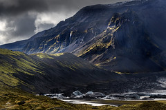 A land that speaks of myths and legends. (lawrencecornell25) Tags: landscape svínafellsjökull iceland scenery outdoors glacierlagoon icebergs mountains southeasterniceland nature nikond850 hillside