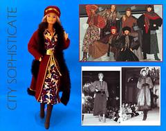 FASHION INSPIRATIONS (ModBarbieLover) Tags: superstar barbie doll mattel 1979 1976 haute couture ysl yves saint laurent balletrusse fashion inspiration paris vintage 1970s style toy peasant gypsy dressing carol spencer