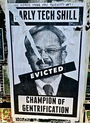 Ed Lee, San Francisco, CA (Robby Virus) Tags: sanfrancisco california sf ca ed lee tech shill early evicted champion gentrification paste pasted paper pasteup wheatpaste