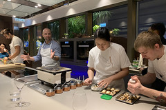 IMG_0527 (g4gary) Tags: aulis seriousdining wineanddine tastingmenu kitchen chefstable hongkong causewaybay modern dinner