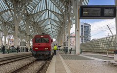 CP5603 resting at Lisboa Oriente (Nicky Boogaard) Tags: cp comboiosdeportugal comboios cp5600 lisboaoriente