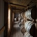 Aging with anticipation; bourbon in barrels at Lux Row Distillery in Bardstown,Kentucky