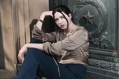 Green Door (Jochen Abitz Photography) Tags: model fashion editorial profoto nikon d750 5014 b1x beautydish