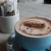 blue ceramic mug on saucer - Credit to https://myfriendscoffee.com/