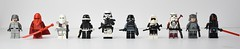 The Empire's Finest (WG Productions) Tags: lego star wars starwars galactic civil war storm shadow jetpack trooper royal guard empire finest minifigs figbarf blaster lightsaber scout sniper snow snowtrooper field commander