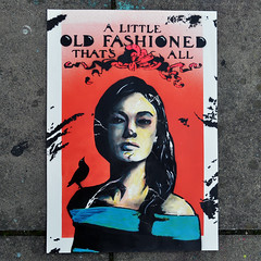 A little old fashioned that's all (id-iom) Tags: art fashion girl lady woman urbanart contemporaryart modernart streetart urban modern contemporary pop popart southsea playdead playdeadgallery gallery portsmouth stencil painting bird oldfashioned