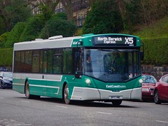 East Coast Buses 10055 (SF17VMC) - 19-01-19 (peter_b2008) Tags: eastcoastbuses lothianbuses edinburgh volvo b8rle wright eclipseurban3 10055 sf17vmc buses coaches transport buspictures