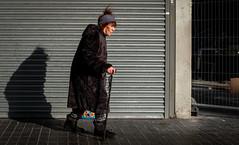 2019_32 (Chilanga Cement) Tags: fuji fujix100f fujifilm fujix xseries x100f x100s x100 lady preston prestonstreetphotography shutter coat winter hat purpose candid