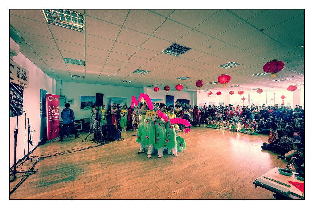 YEAR OF THE PIG - LUNAR NEW YEAR CELEBRATION AT THE CHQ IN DUBLIN [OFTEN REFERRED TO AS CHINESE NEW YEAR]-148925