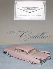 1959 Cadillac Fleetwood 4 Door Hardtop Promo Model Car (coconv) Tags: car cars vintage auto automobile vehicles vehicle autos photo photos photograph photographs automobiles antique picture pictures image images collectible old collectors classic promotional dealership plastic scale promo model smp amt mpc johan revell hubley 125 124 banthrico sample kit coupe history historical dealer toy miniature 125th 1959 cadillac fleetwood 4 door hardtop 59 pink reissue brochure prestige catalogue